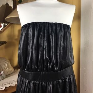 Lane Bryant Leather Look Strapless Tube Top 26